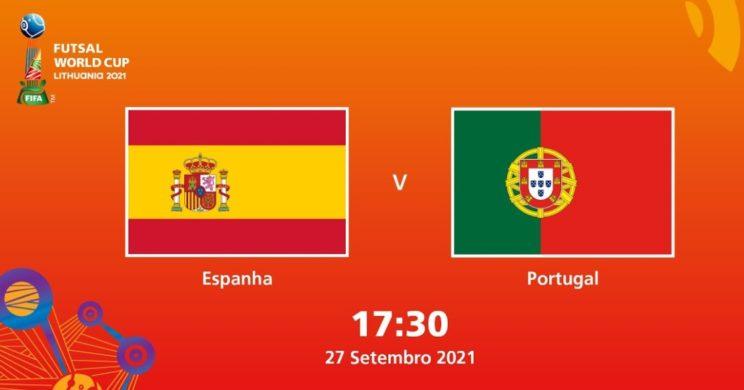 Испания португалия футзал